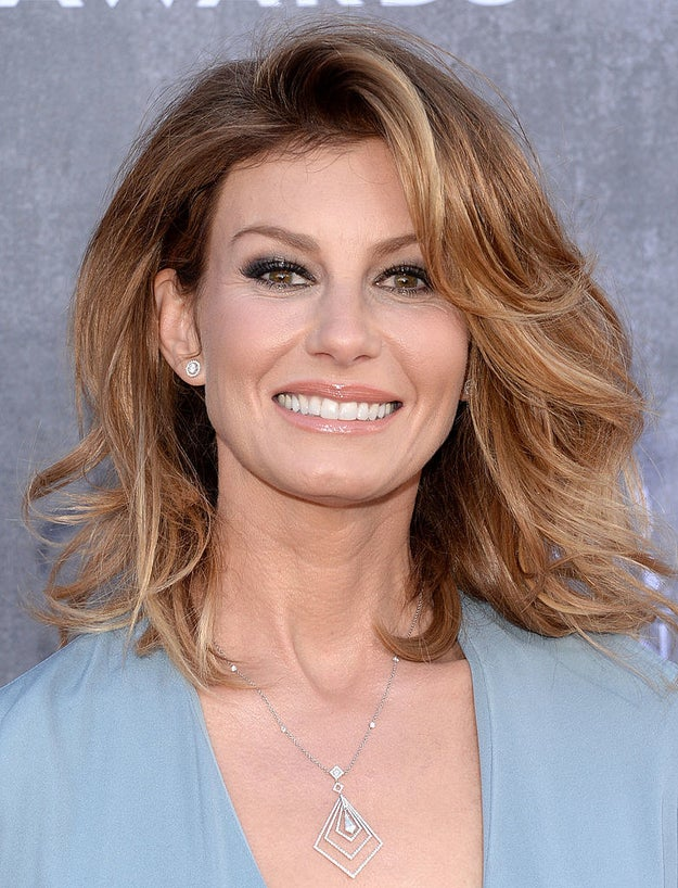 """And this is Faith Hill. She's a singer too, best known for her hits like """"Breathe"""" and """"This Kiss."""""""
