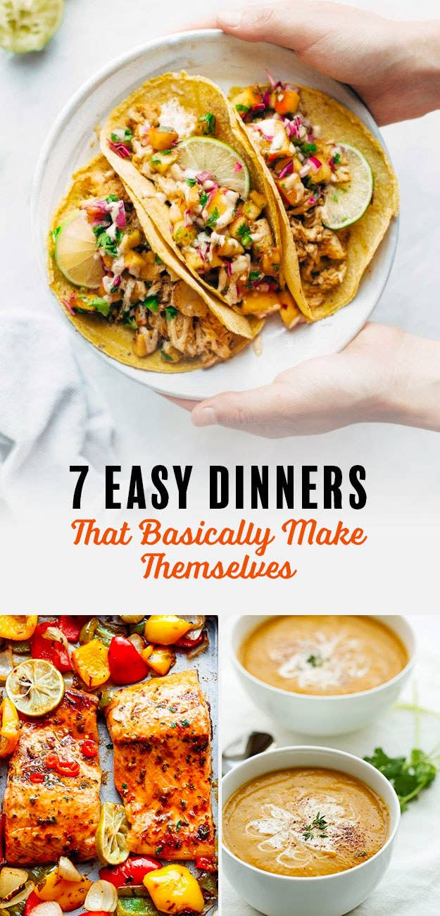 7 easy dinners that basically make themselves share on facebook share forumfinder Choice Image