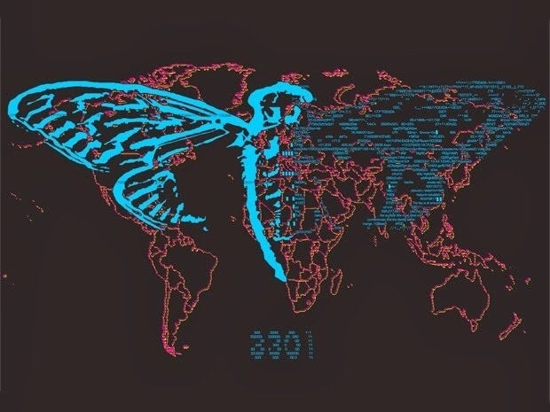 """Cicada 3301 is a deeply strange and cryptic organisation that has been posting complex and eerie puzzles on the internet since 2012. It has been called """"the most elaborate and mysterious puzzle of the internet age"""", and quite a lot of people think it might be the work of the NSA or CIA; an attempt to recruit members of the public to work on codebreaking and hacking projects. Cool."""