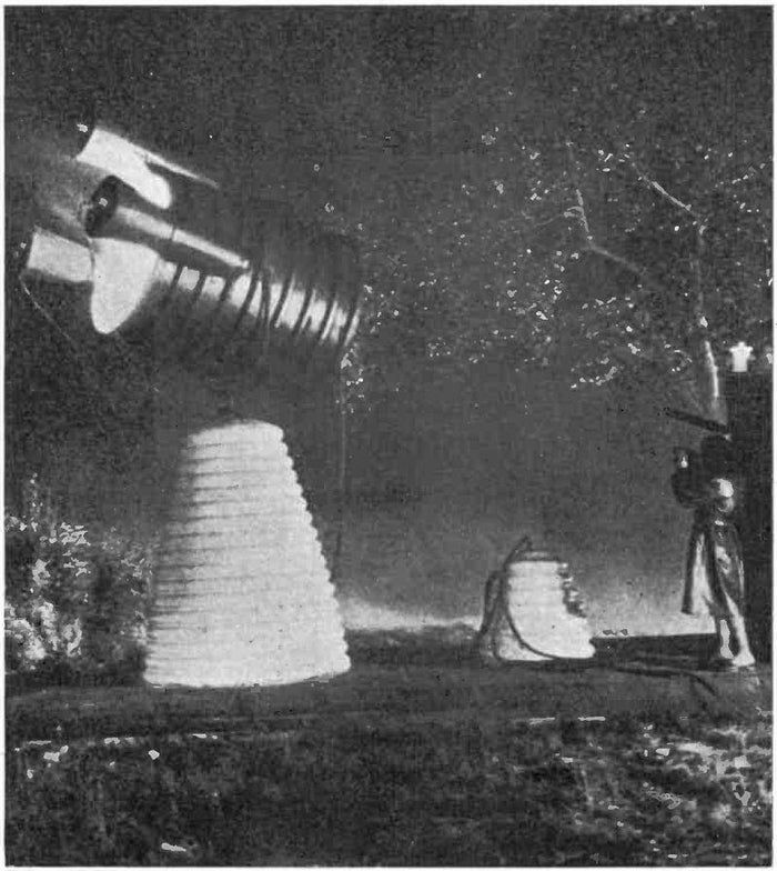Harry Grindell Matthews was an English inventor who, in the 1920s, repeatedly insisted that he had created the world's first electric death ray. In an early demonstration he managed to stop a motorcycle engine from a distance, switched on a light bulb, and also claimed it could shoot down planes and ignite gunpowder. Matthews claimed that he went on to sell the ray to the US military.
