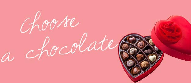 Pick A Chocolate And Get A Valentine\'s Day Fact
