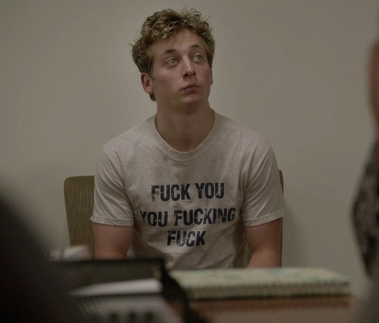 But most of all, when he wore this shirt to class and reminded us he does not give a fuck.