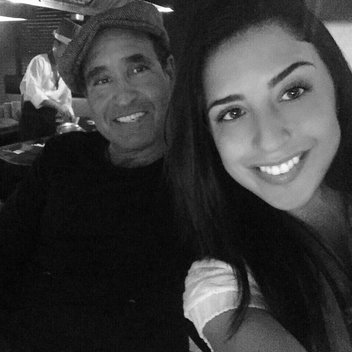 Karina and her father, Phil.