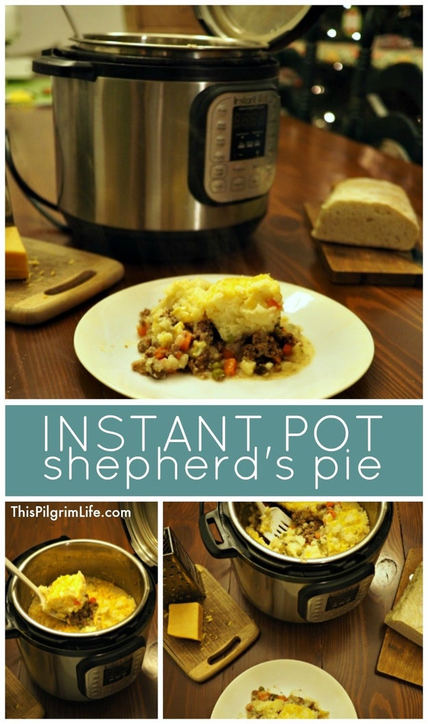 Instant Pot Shepherd's Pie