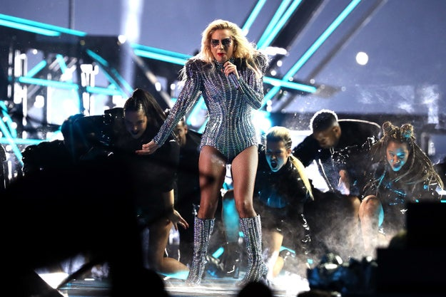 Lady Gaga, of course, slayed her way through the halftime show at Super Bowl LI on Sunday.