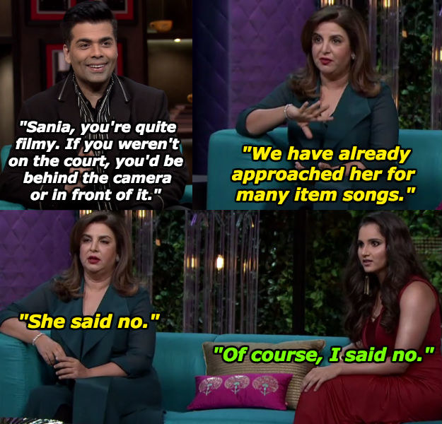 When Sania knew where to draw the line in her friendship with Farah.