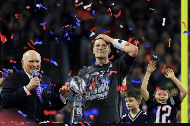 So after Sunday's victory by the Patriots, it's expected the champions will be invited to a ceremony with President Donald Trump, who is a big fan of New England and quarterback Tom Brady.