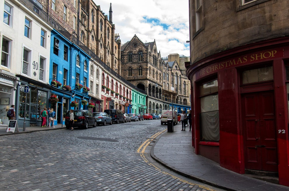 """Diagon Alley"" (Victoria Street and Candlemaker Row)"