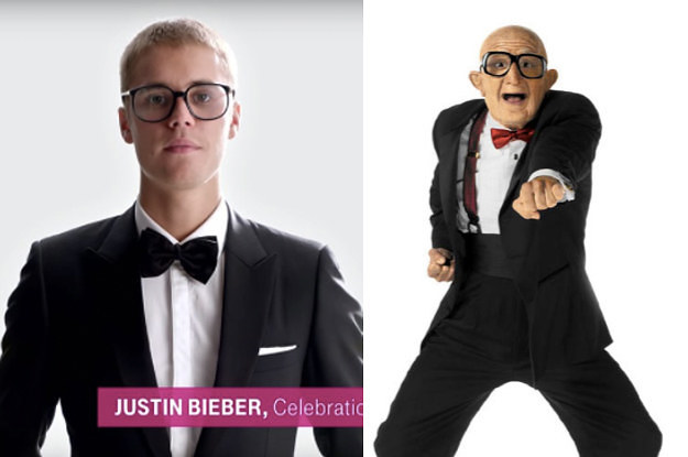 everyone thinks that justin bieber looks like the six flags guy in t