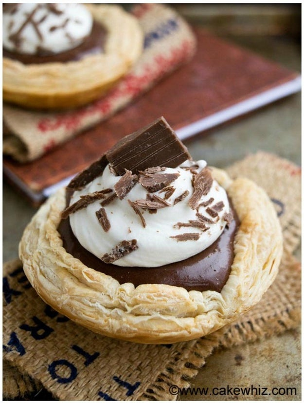 Easy French Silk Pie Dome