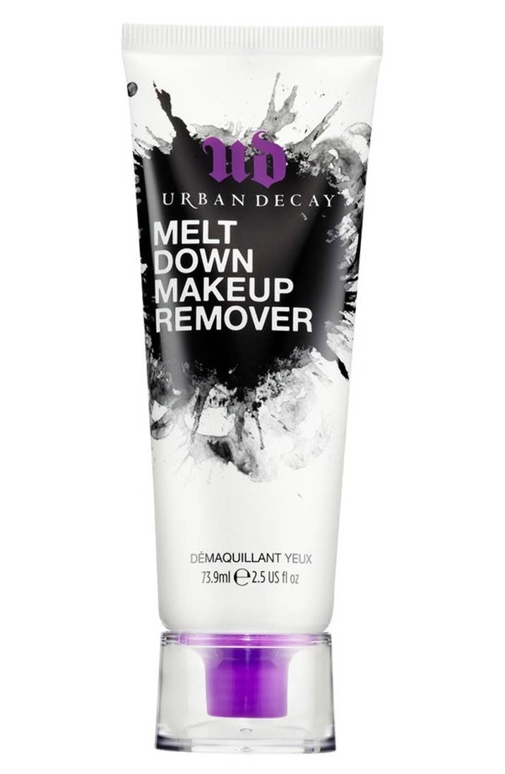 No water required! Though you could follow up with a cleanser for particularly stubborn makeup.Get it from Nordstrom for $24.