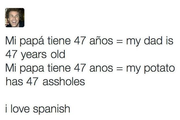 El español es un idioma en el que la atención a los detalles es tremendamente importante.