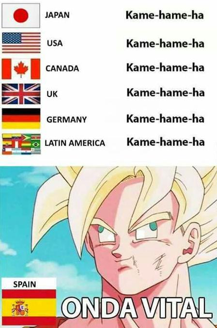 Y que, en España, va un poco por libre en eso de las traducciones.