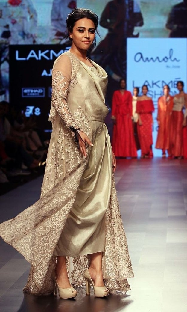 Lakme Fashion Week  Celebrity Showstoppers