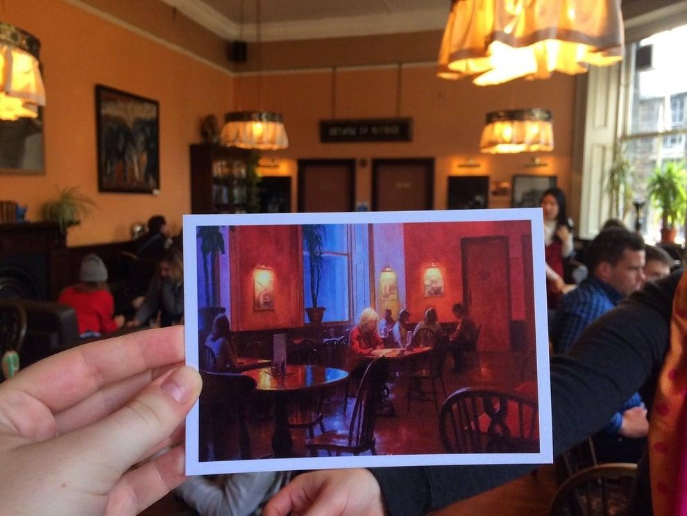The Elephant House Café