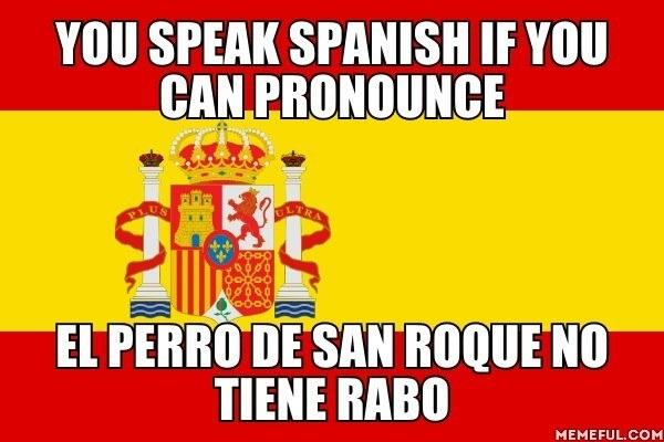 La erre rodada es solo una prueba más para que solo hablen español los elegidos.