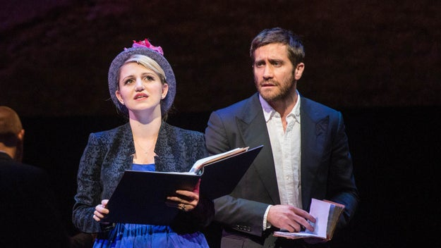 In the musical, Gyllenhaal and his co-star Annaleigh Ashford reprise the roles they took on for a three-night-only concert in New York last fall.
