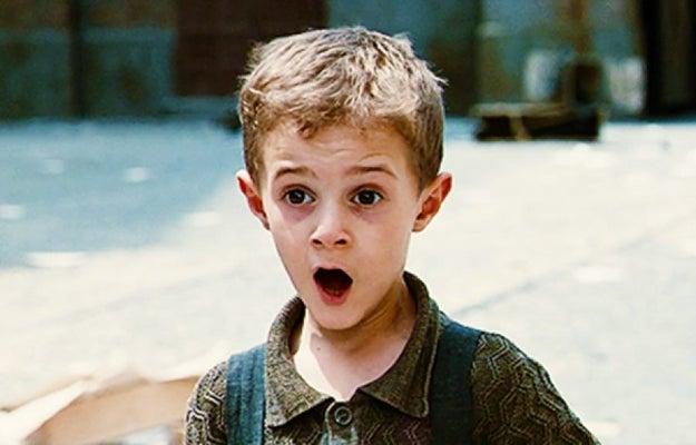 Sin embargo, fue este adorable niño a quien amamos con todas nuestras fuerzas durante los 116 minutos de duración de la película.