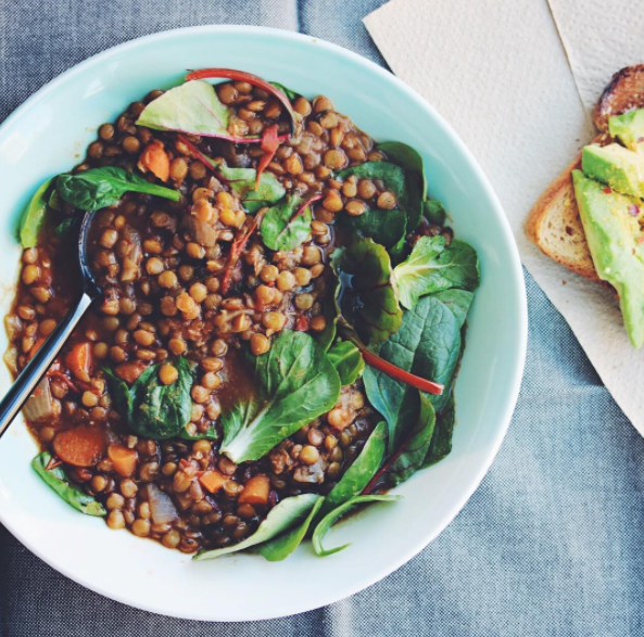 Vegans might have to put a little more thought into their protein intake, especially if they're super active.