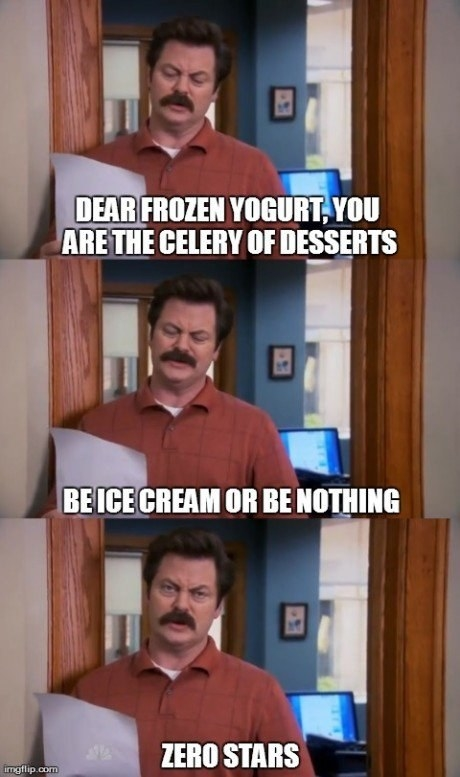 """15 Times Ron Swanson Made You Say """"Me On A Diet"""""""