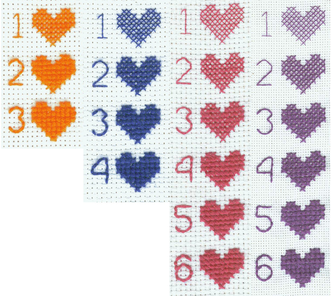 Colour Size 20 32 Count X Stitch Fabric Choose Count 25,30 22 Pieces of 11