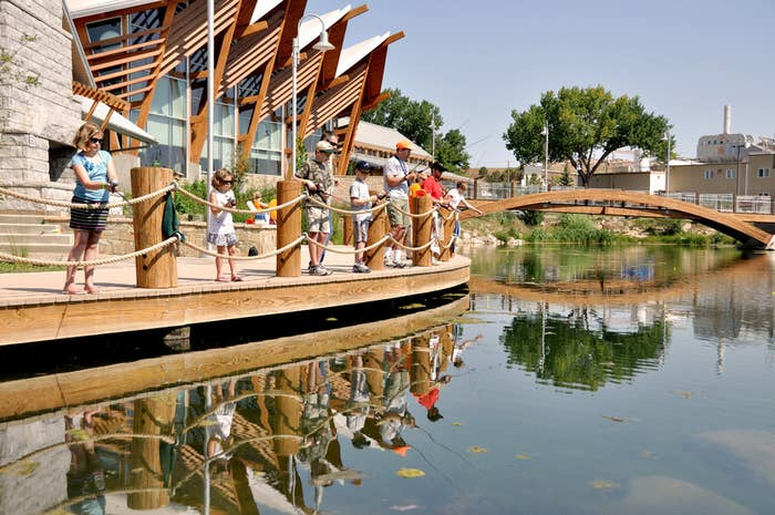 This center, run by the South Dakota Game, Fish, and Parks Department, offers family and child-friendly outdoors classes, including one-offs on hunting, fishing, paddling, survival basics, and even soap carving or dutch-oven cooking. Checking out all their awesome trails for hiking and biking is also a must.