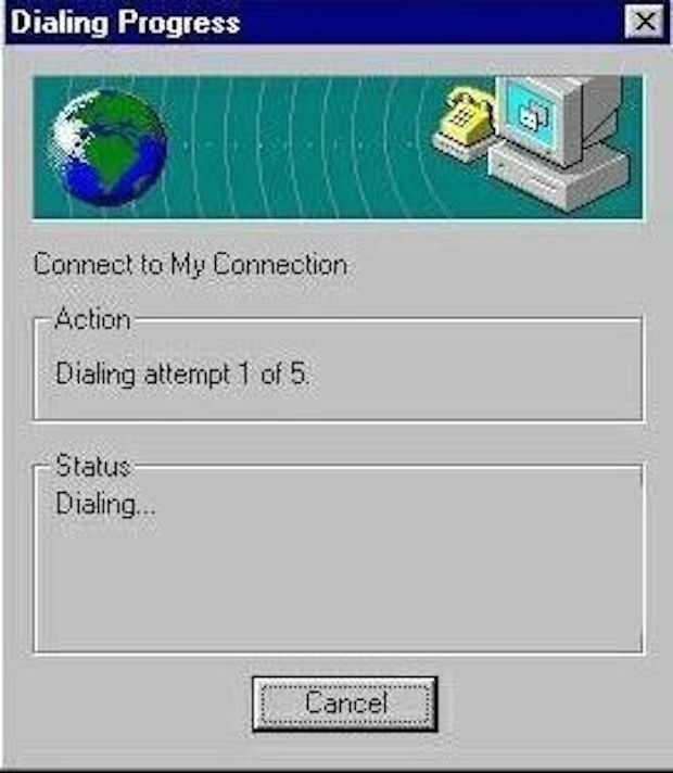 Losing your connection to the internet: