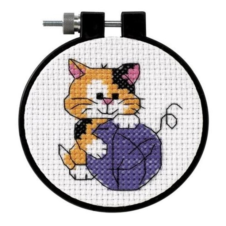 Color Symbols Charts Counted Cross Stitch Patterns Funny Cats and Dogs 1