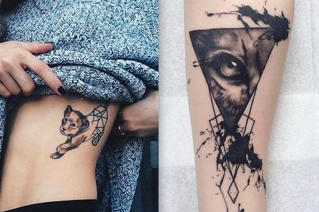 15 Bonitos Tatuajes De Leones Y Tigres Que Querras Ahora Mismo