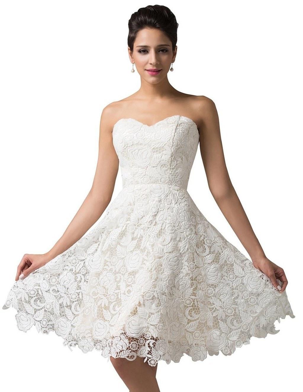 Short Cheap Wedding Dresses
