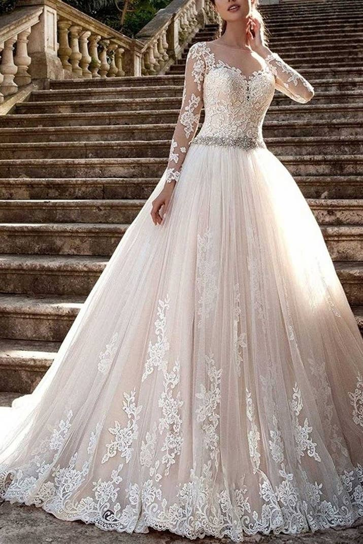 A Gorgeous Gown That Was Designed By Magical Fairies Who Specialize In Wedding Ensembles