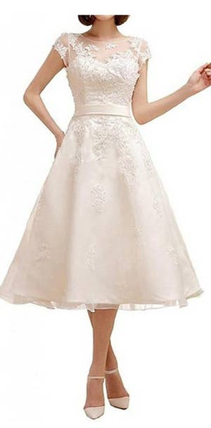 271274d45b 20 Gorgeous Wedding Dresses You Won t Believe You Can Get On Amazon