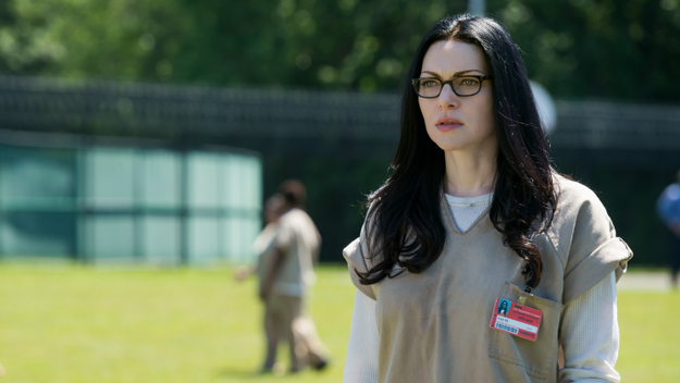 Alex Vause killed a man in the greenhouse, which is a pretty insane thing to do while in prison.