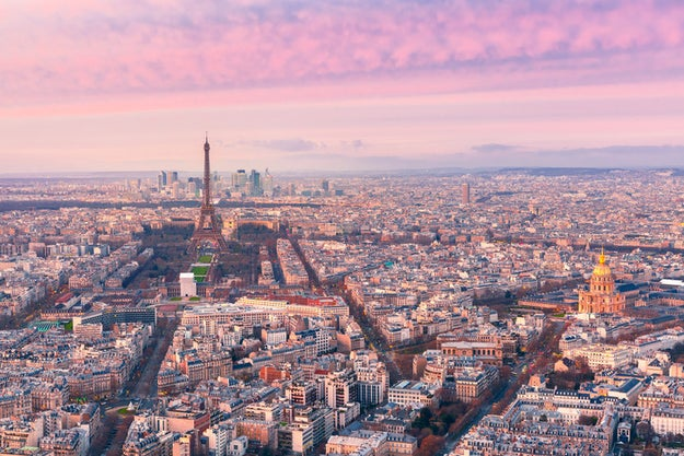 Say au revoir to the Eiffel Tower and take in a spectacular view of Paris atop the Tour Montparnasse.