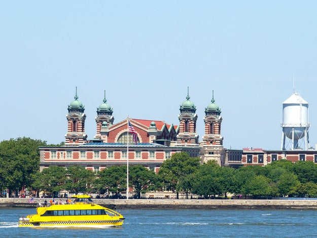 Stop making time to go to the Statue of Liberty and go to Ellis Island — or wave to it from the Staten Island Ferry.