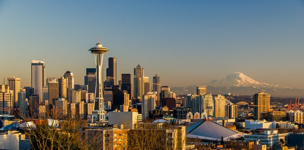 Ditch Seattle's Space Needle and check out the city from Kerry Park or Columbia Tower.