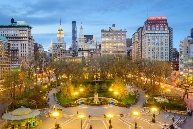 If you must see any square in New York, please don't go to Times Square; try Union Square instead.