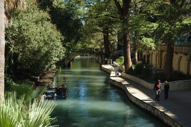 Forget the Alamo and stroll along San Antonio's Riverwalk instead.