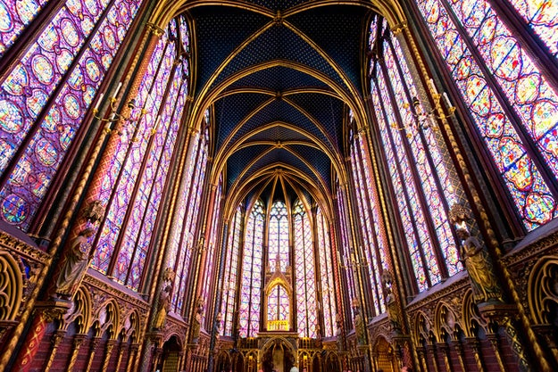 Say no to Notre-Dame in Paris and yes to Sainte-Chappelle.