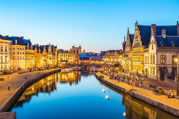 Sidestep Brussels and go straight for Ghent in Belgium.