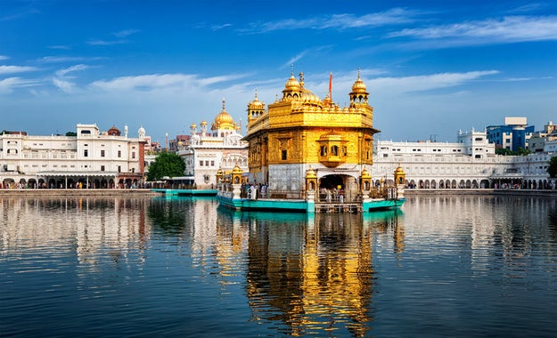 Ditch the Taj Mahal for the Golden Temple.