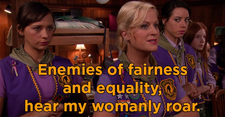 15 Leslie Knope Quotes To Chant In The Mirror When The