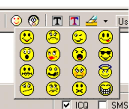 Or picking from the ORIGINAL emojis: