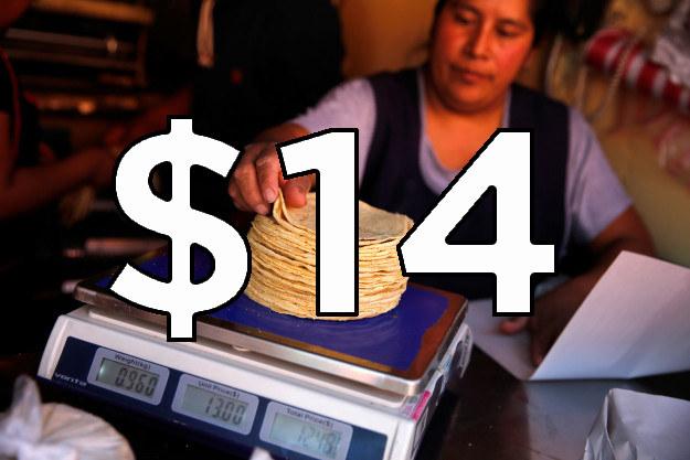 Tortilla subió en todos lados, y ahora estás pagando...