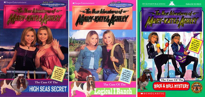Image result for mary kate and ashley adventures books