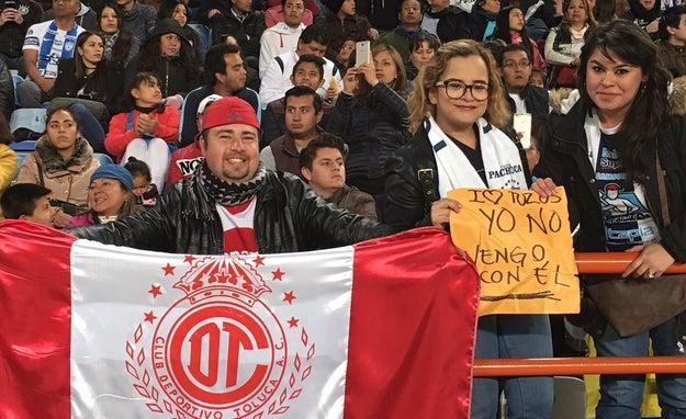 O este desafortunado fanático del Toluca.