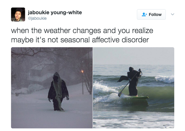 Because it turns out seasonal depression might not be so ~seasonal~ after all.