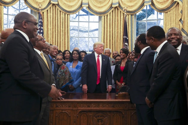 """You People"" Are Doing An Amazing Job, Trump Told HBCU Presidents"