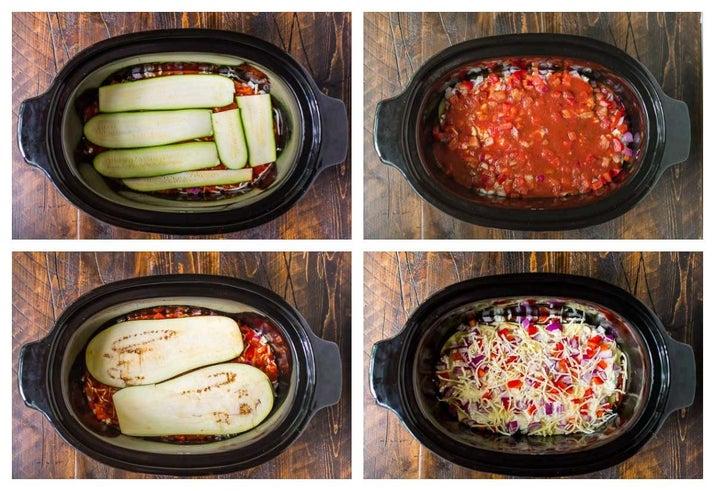 Crock-Pot Low-Carb Lasagna