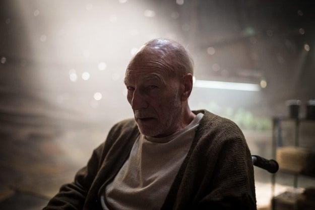 Patrick Stewart también se despide de Charles Xavier.
